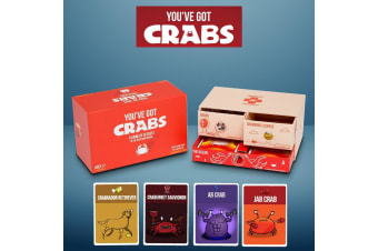 You`ve Got Crabs Party Card Game | From The Exploding Kittens People!