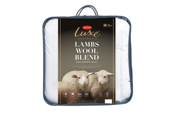 Tontine Luxe Lambswool Blend Quilt (Double)
