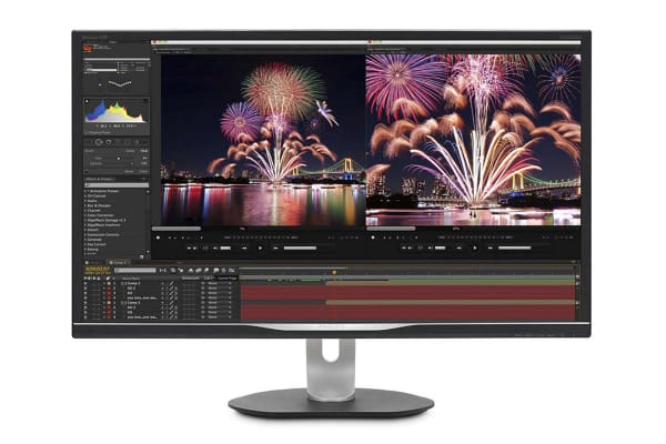 "Philips 32"" 2K 2560x1440 HDR USB-C Docking IPS Monitor (328P6AUBREB)"