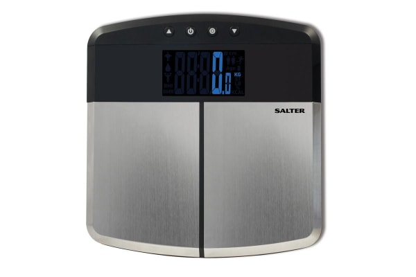 Salter Stainless Steel Digital Analyser Bathroom Scale (9153SS3R)