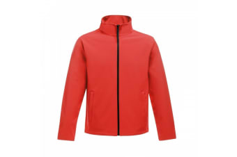 Regatta Womens/Ladies Ablaze Printable Softshell Jacket (Classic Red/Black) (10 UK)