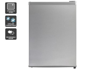 Kogan 69L Bar Fridge - Stainless Steel