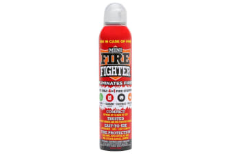 Mini Fire Extinguisher Fighter 250ml Home Office Kitchen Electrical Petrol