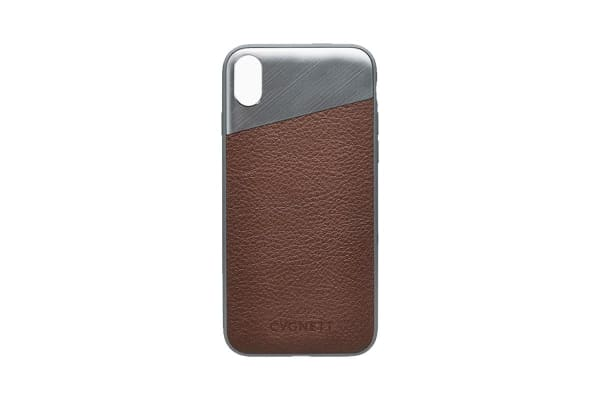 Cygnett Element Leather Case  for iPhone X - Brown