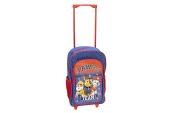 Paw Patrol Childrens/Kids Pawfect Team Trolley Backpack (Blue/Red) (One Size)