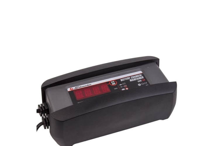 SCHUMACHER 12 VOLT 3A BATTERY CHARGER CAR MOTORBIKE AGM DEEP CYCLE SLA LITHIUM