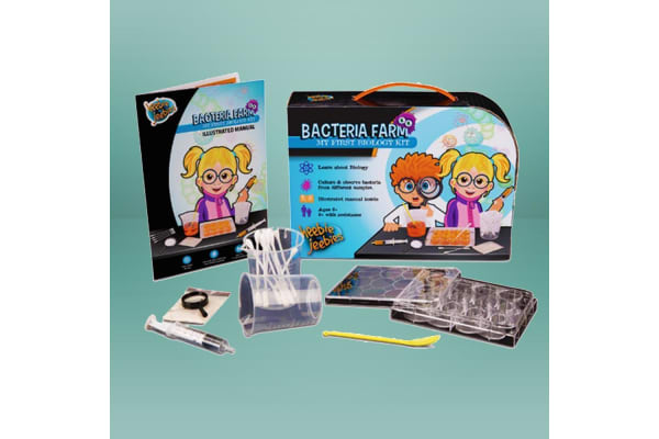 Kids Bacteria Farm Science Experiments Kit | 3 Exciting Experiments!