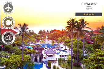 BALI: 7 Nights at The Westin Resort Nusa Dua Including Flights For Two