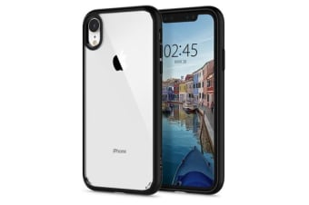 "Spigen iPhone XR (6.1"") Ultra Hybrid Case, Matte Black"