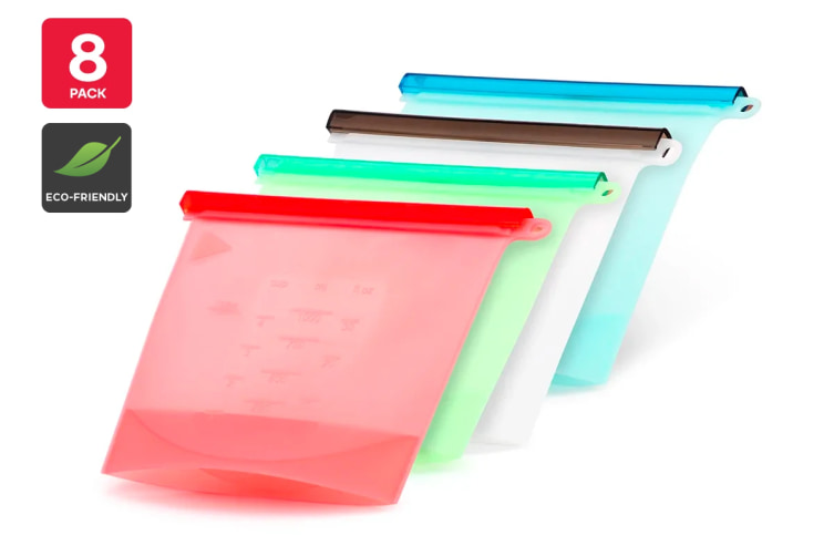 Kogan Silicone Eco-Friendly Zip Bags