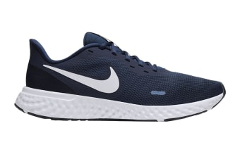 Nike Men's Revolution 5 Shoes (Navy Blue/White, Size 7.5 US)