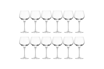 12pc Krosno Harmony Collection 570ml Red Wine Glass Barware Bar Drinking Glasses