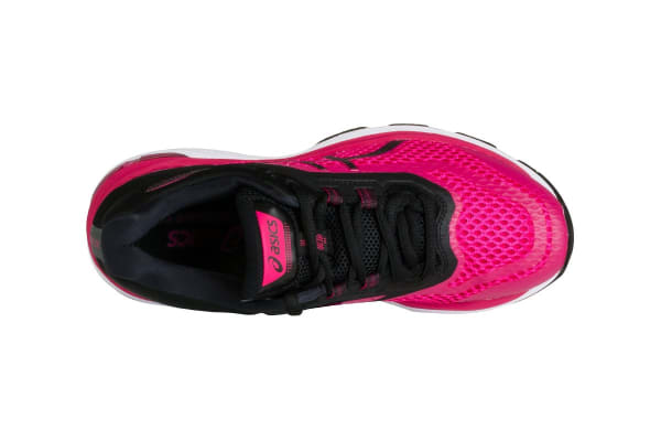 ASICS Women's GT-2000 6 Running Shoe (Bright Rose/Black/White, Size 8)