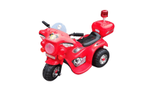 Kids Electric Ride On Motorcycle - Red