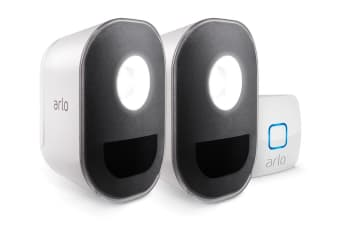 Arlo Security Lights with 2 x Wire-Free Smart Lights (ALS1102-100AUS)