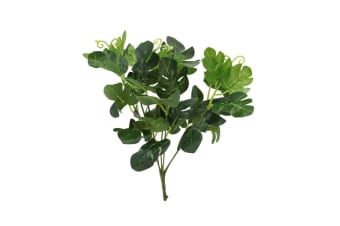 Artificial Fake Leaves Bunch Greenery Foliage Leaf [Design: Leaf Bush-SplitLeaf Philo]