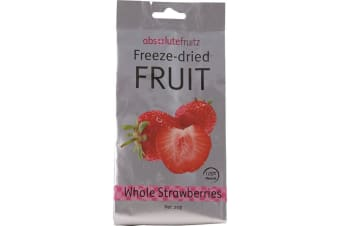AbsoluteFruitz Freeze Dried Whole Strawberries 18g