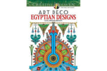Creative Haven Art Deco Egyptian Designs Coloring Book