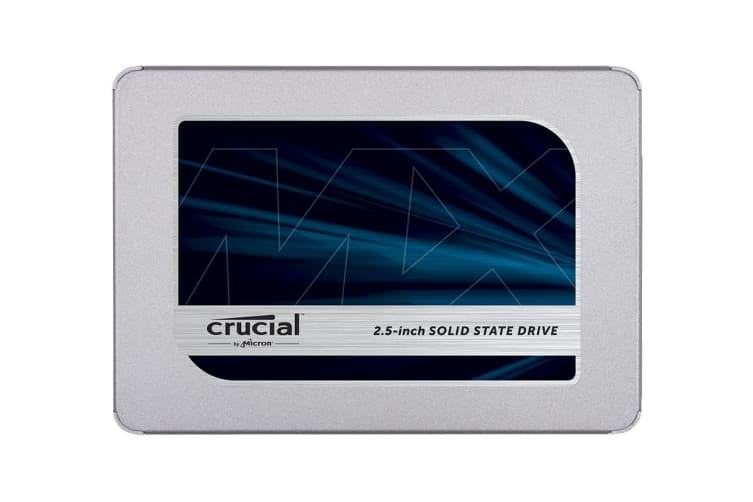 Crucial MX500 1TB SATA 2.5-inch 7mm (with 9.5mm adapter) Internal SSD (CT1000MX500SSD1)