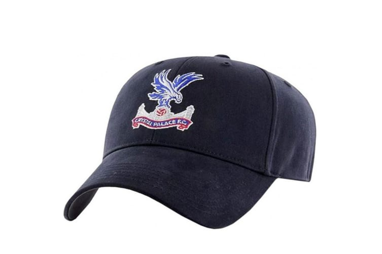 Crystal Palace FC Baseball Cap (Navy) (One Size)