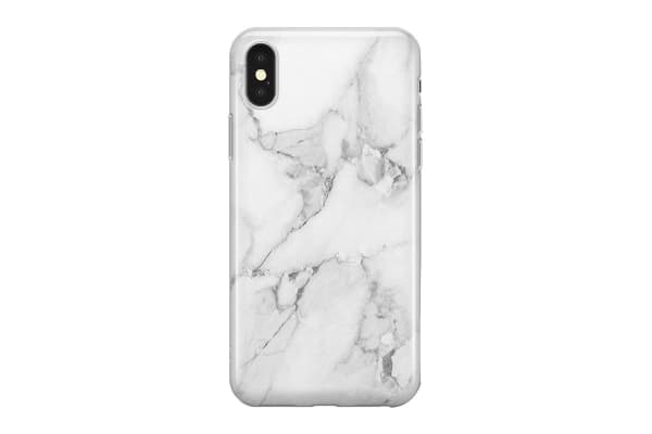 Recover iPhone Xs Max Case - White Marble (REC047)