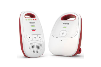 2PK Vtech Safe & Sound Baby/Parent Portable Digital Audio/Sound Monitor White