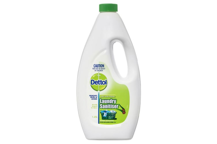 Dettol 1.25L Hot/Cold Washing Liquid Laundry Sanitiser/Detergent w/ Eucalpytus