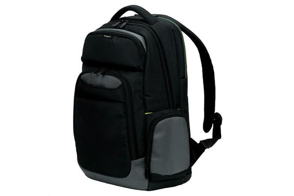 "Targus CityGear II Carrying Case Backpack for 15.6"" Notebook - Shoulder Strap - Black/Grey"