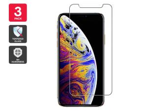 3 Pack iPhone 11 Pro Premium 9H Tempered Glass Screen Protector