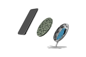 QI Wireless Charger For iPhone XR XS MAX Samsung Galaxy S10 S10+ S10e  Flowers