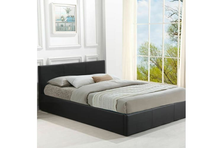 Levede Gas Lift Bed Frame Base With Storage Single Double Queen King Size