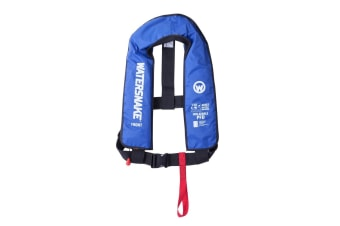 Blue Watersnake Manual Inflatable PFD - Level 150 Adult Life Jacket