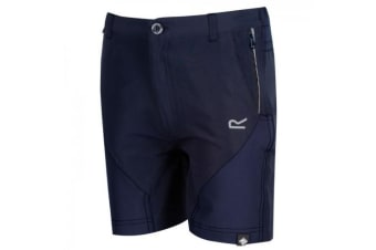 Regatta Childrens/Kids Sorcer Mountain Shorts (Navy/Navy) (11-12 Years)