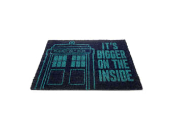 Doctor Who Tardis Doormat (Blue) (One Size)