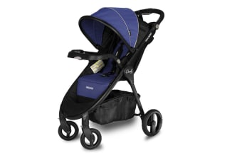 Recaro Performance Denali Luxury Stroller Travel System - Indigo