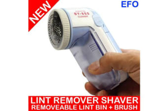 Lint Remover Shaver Removeable Lint Bin Cleaning Brush Battery Powered Sy-555