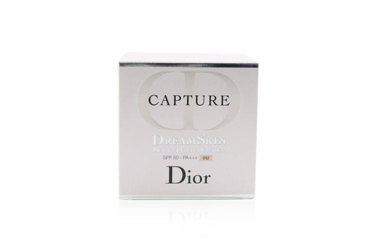 Christian Dior Capture Dreamskin Moist & Perfect Cushion SPF 50 With Extra Refill - # 012 (Porcelaine) 2x15g