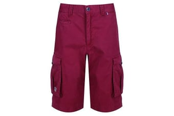 Regatta Mens Shorebay Vintage Cargo Shorts (Delhi Red) (32in)