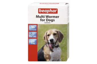 Beaphar Multi Wormer For Dogs (12 Tablets) (May Vary)