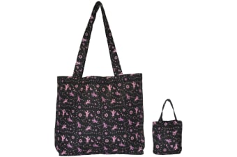 Moorland Rider Foldaway Shopper Bag (May Vary) (44 x 32 x 11cm)