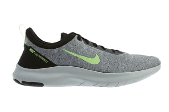 Nike Men's Flex Experience RN 8 (Grey/Lime, Size 7.5 US)