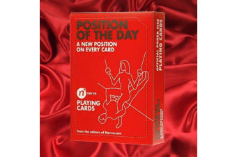 Position of the Day Playing Cards | card game naughty bucks hens