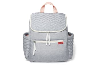 Skip Hop Five Star Mommy Backpack - Dove Grey