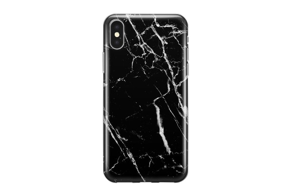 Recover for iPhone X/Xs - Black Marble (REC031)