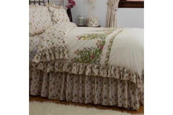 Belledorm Bella Mae Fitted Valance (Ivory)