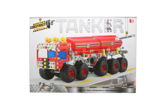 Construct It Kit - Tanker - 438 Pieces with Real Tools