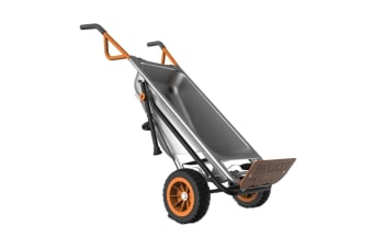 WORX Aerocart 8-in-1 All Purpose Wheelbarrow with Bonus Wagon Kit (WG050)
