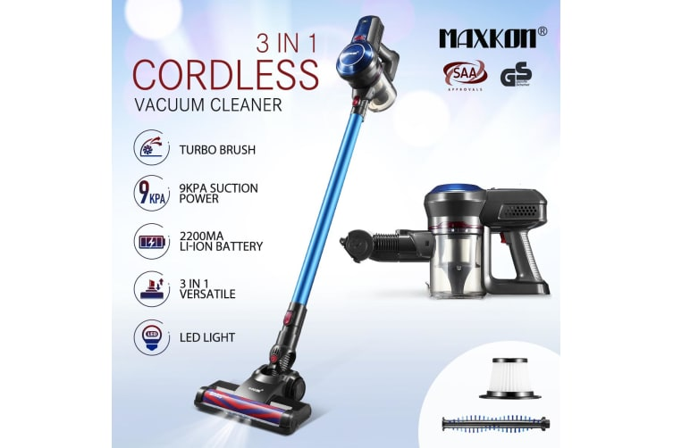 Multi-function Bagless Stick Vacuum Cleaner Cordless Cleaning Rechargeable Battery with HEPA Filter