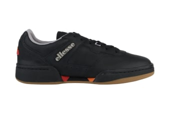 Ellesse Men's Piacentino 2.0 Leather AM Shoe (Black, Size 12 US)