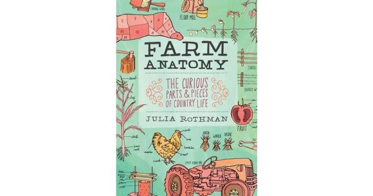 Farm Anatomy the Curious Parts & Pieces of Country Life by JULIA ...